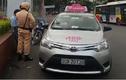 Tài xế taxi ACB giằng co quyết liệt với CSGT Hà Nội