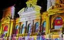 Ảnh: Tòa nhà UBND TP HCM kỳ ảo với màn chiếu đèn nghệ thuật