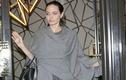 Angelina Jolie gầy rộc, chỉ còn 35 kg sau ly hôn Brad Pitt