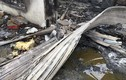 Tan hoang tại hiện trường cháy nhà máy bánh kẹo Tràng An