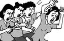 Video: Dân tình phẫn nộ khi chồng đánh vợ không tiếc tay để bảo vệ bồ