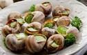 Ốc sên nhìn thì ghê nhưng lại là đặc sản cho người sành ăn ở Pháp