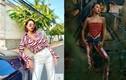 Ngắm các kiểu thời trang gợi cảm xuống phố của sao Việt ngày cuối năm