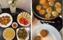 Soi những mâm cơm hấp dẫn do bạn gái Quang Hải tự tay nấu