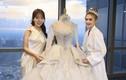 Mê mẩn chiếc váy cưới xa hoa của Xoài Non và loạt mỹ nhân Việt
