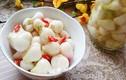 Cách làm hành muối chua ngọt ăn giải ngấy ngày cận Tết