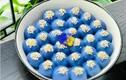 Cách làm bánh trôi hoa đậu biếc vừa lạ vừa đẹp cúng Rằm tháng Giêng