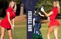 Nàng mẫu người Mỹ gây sốt vì mặc quá gợi cảm khi chơi golf