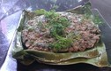 Độc đáo món thịt băm gói lá nướng kiểu người Thái