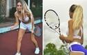 """""""Nhức mắt"""" thời trang thiếu vải của các mỹ nhân trên sân tennis"""