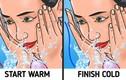 Tại sao người Nhật rửa mặt trong 10 phút mỗi lần?