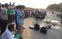 Xe máy đối đầu xe Jeep, 2 cảnh sát PCCC thiệt mạng