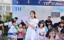 Hoa hậu Mỹ Linh thích thú trước ý tưởng vì môi trường của thiếu nhi