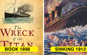 Rùng mình tiên tri khủng khiếp về thảm kịch chìm tàu Titanic