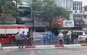 Cháy lớn cửa hàng đồ sơ sinh phố Tôn Đức Thắng