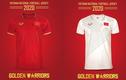 Fan thích thú soi mẫu áo của U23 Việt Nam qua thập kỷ qua