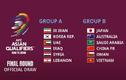 Việt Nam cùng bảng Trung Quốc ở Vòng loại thứ 3 World Cup 2022