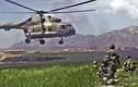 Afghanistan lần đầu cho Mi-17 xuất trận, đánh Taliban chạy tán loạn