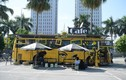 Độc đáo xe buýt phế thải được hô biến thành quán cà phê