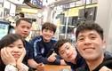 Dàn soái ca U23 Việt Nam đăng ảnh đi chơi trong đêm cuối ở Hàn Quốc