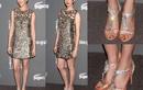 Anne Hathaway nổi bật với sandal của Giuseppe Zanotti