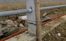 Thành nhà Hồ hậu nhận bằng: Cọc tre đỡ cột bê tông