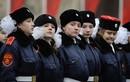 Vẻ đẹp nữ binh sĩ trong ngày kỷ niệm duyệt binh Cách mạng tháng 10 Nga