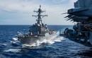 Sức mạnh khu trục Mỹ tiến vào vùng Trung Quốc tập trận trên Biển Đông