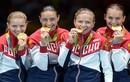 Vẻ yêu kiều của các nữ VĐV Nga tại Olympic Rio 2016