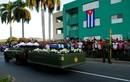 Bắt đầu lễ an táng lãnh tụ Cuba Fidel Castro