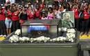 Hình ảnh xúc động lễ truy điệu lãnh tụ Cuba Fidel Castro