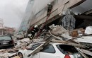 Cảnh tan hoang sau trận động đất mạnh ở Đài Loan