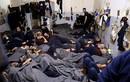 Cảnh hàng nghìn tù binh IS nhồi nhét trong nhà tù ở Syria