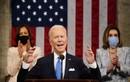 Toàn cảnh Tổng thống Biden lần đầu phát biểu trước Quốc hội Mỹ