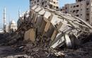 Cận cảnh tòa tháp 13 tầng ở Gaza bị Israel san phẳng