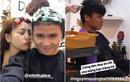 Quang Hải cùng bạn gái đi làm tóc đón Tết ngay sau ngày về nước
