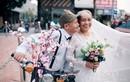 Bộ ảnh cưới đầy ngọt ngào của cụ ông, cụ bà Nghệ An bên nhau 65 năm