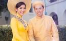 Ngọc Quyên rủ chồng chụp ảnh cưới với áo dài