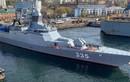 """Tàu hộ tống của Nga tiêu diệt """"kẻ thù"""" ở biển Nhật Bản"""