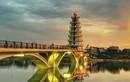 Muốn có ảnh chất, giới trẻ tìm ngay đến cầu đi bộ tại Phú Thọ