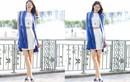Á hậu Phạm Hương khoe chân dài eo thon trên phố