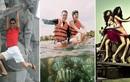 Sao Việt thản nhiên ngồi lên san hô, đu tượng: Ý thức ở đâu?