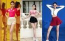 """Ngắm đôi chân """"cực phẩm"""" dài 1m11 của Hoa hậu Đỗ Thị Hà"""