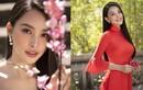 """Hoa hậu Tiểu Vy đẹp """"gây mê"""" trong tà áo dài Tết"""