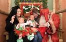 Bàng hoàng xem vợ chồng đại gia tổ chức Giáng sinh cho con