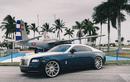 """Rolls-Royce Wraith """"chất lừ"""" nhờ độ mâm Vossen 150 triệu đồng"""
