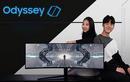 Samsung trình làng dòng màn hình chơi game Odyssey mới