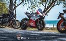 """""""Soi"""" siêu môtô Ducati Panigale V4 tiền tỷ độ tem Pramac"""