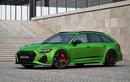 Audi RS6 Avant độ công suất mạnh ngang siêu xe Bugatti Veyron