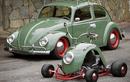 Xe máy 4 bánh làm từ tấm chắn bùn Volkswagen Beetle